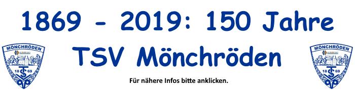 150 Jahre TSV Mönchröden!